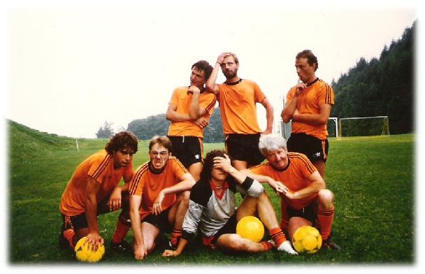 1984: Juniorenlager in Leysin