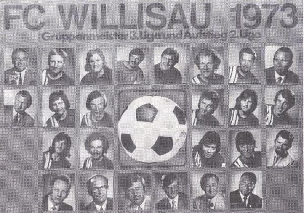 Gruppenmeister 3. Liga und Aufstieg in die 2. Liga