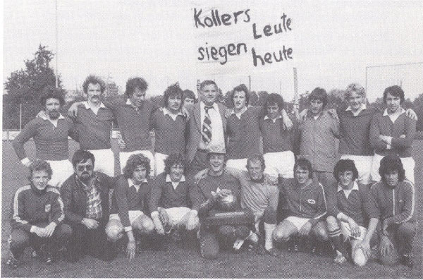 Aufstiegspiel 3./2.-Liga in Sursee gegen den SC Luzern, Saison 1975/76