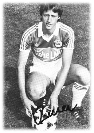 1982 schaffte Urs Birrer den Sprung vom FC Willisau zum FC Luzern und später auch noch in die Schweizer Nationalmannschaft
