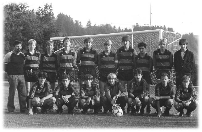 B-Junioren ca. 1985