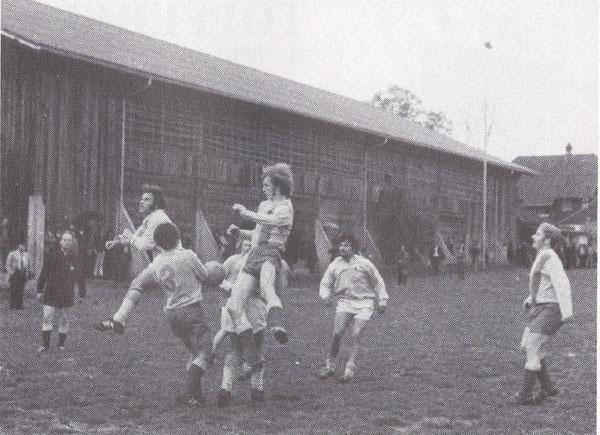 Ausweich-Fussballplatz bei der Festhalle, Saison 1969/70