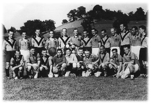 1945 25-Jahre-Jubiläum FC Obergeissenstein (Spiel wurde in Luzern ausgetragen)