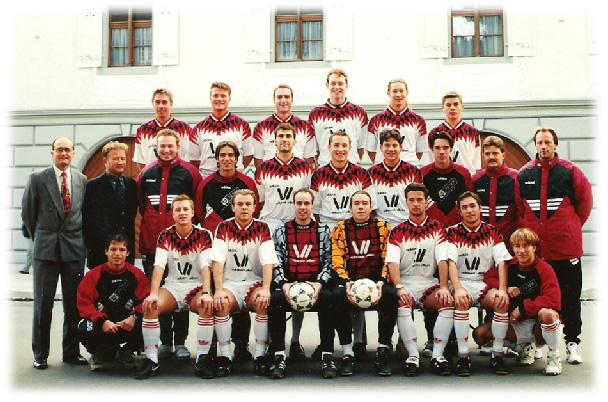 1. Mannschaft Saison 1995/96