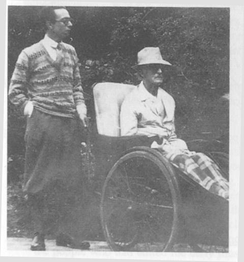 エリック・フェンビーと フレデリック・ディーリアス