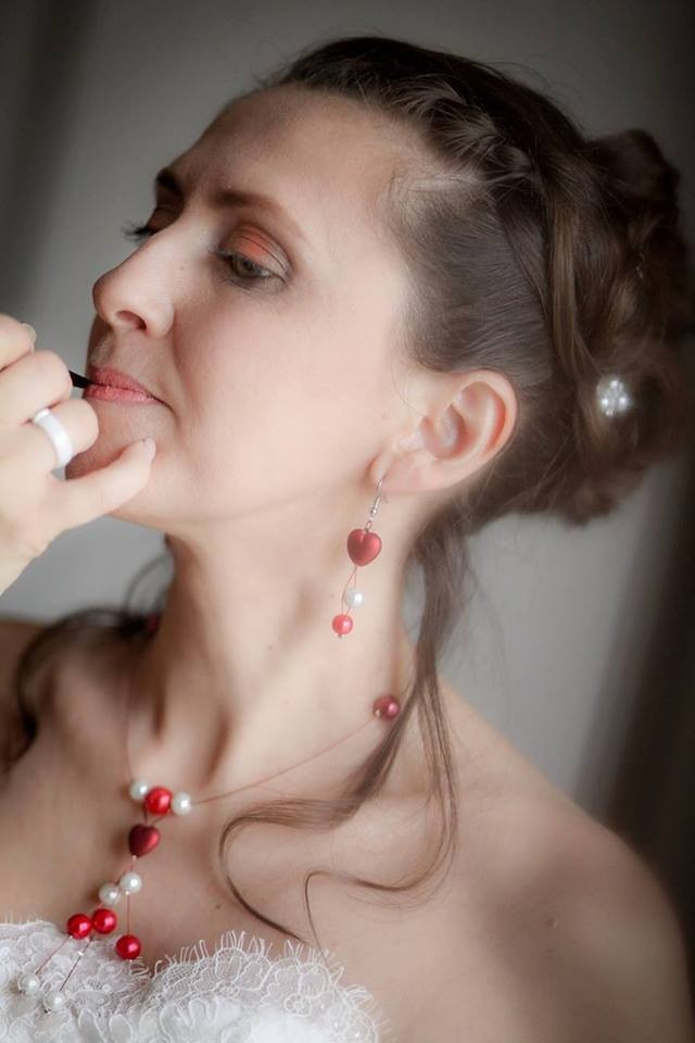 Coiffure et maquillage mariée. Mise en beauté de la mariée, beauté événementielle L'Instant Beauté de Noé