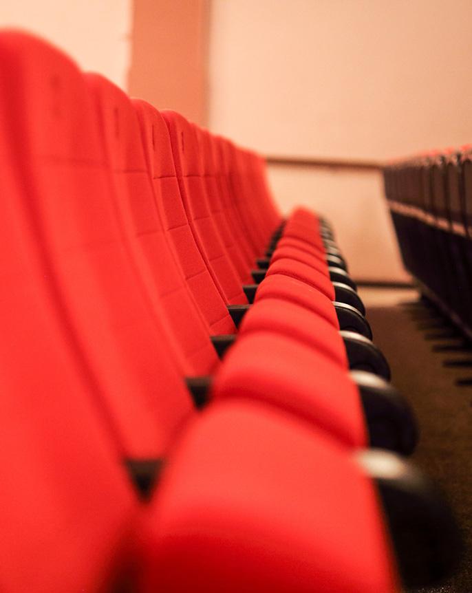 Beinfreiheit im Cinema