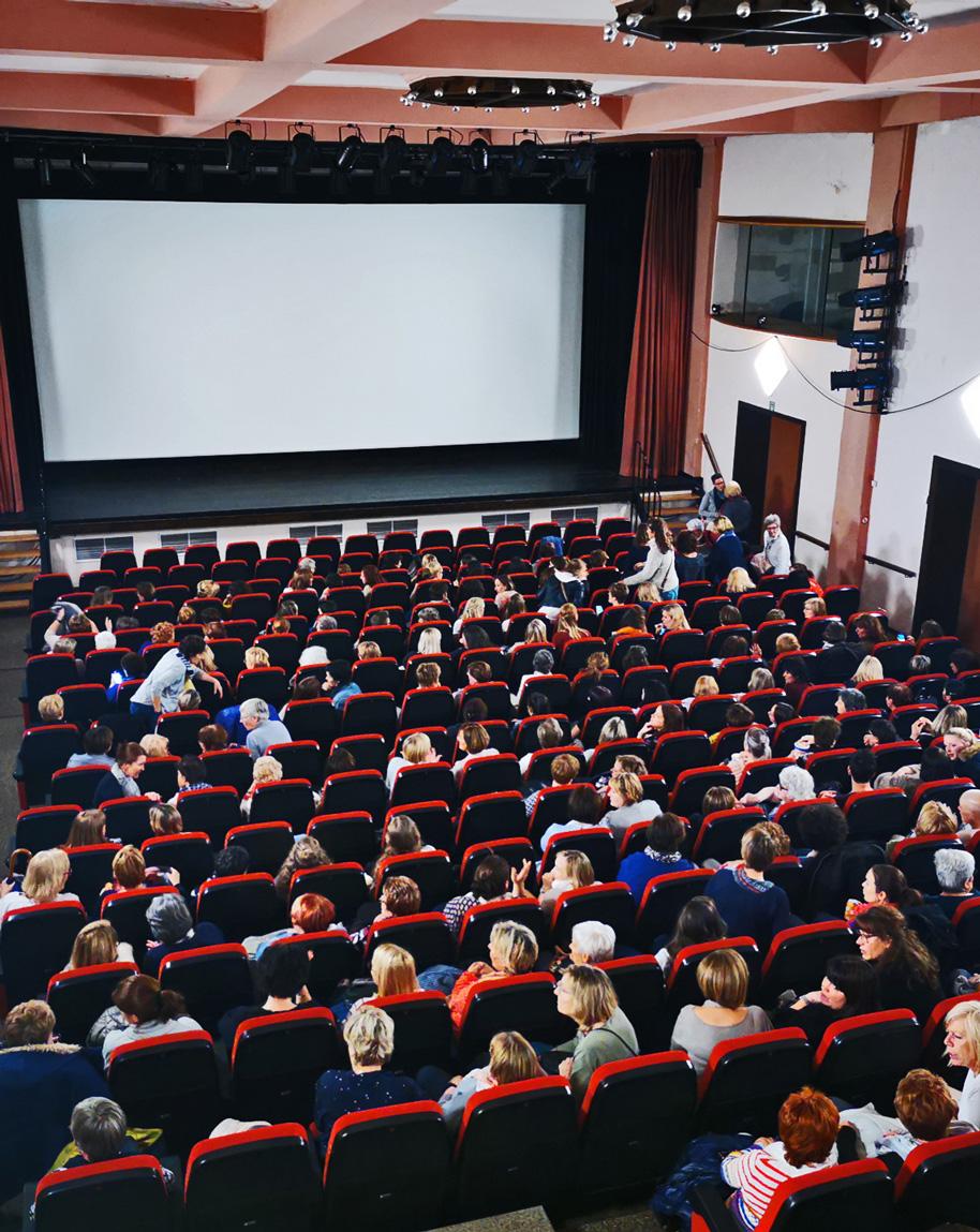 Ganz viele Hühner im Cinema