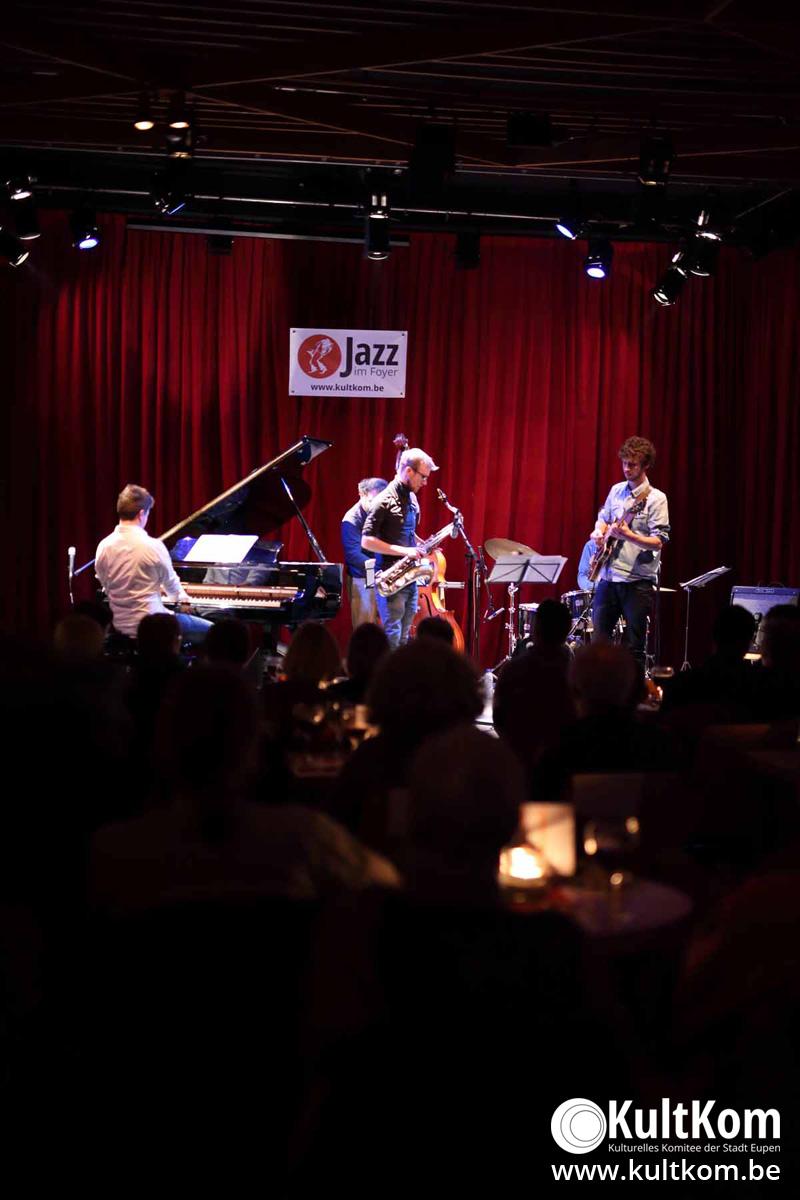 Joachim Caffonnette Quintet bei Jazz im Foyer (11.02.17)