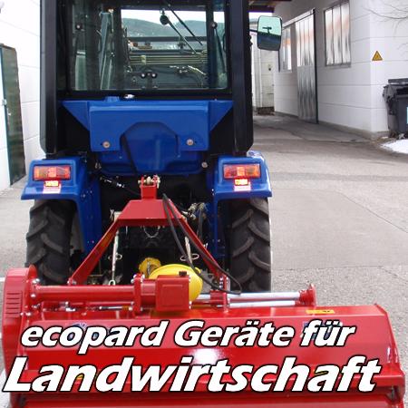 ecopard Kompakttraktoren Traktor-Anbaugeräte für die Landwirtschaft