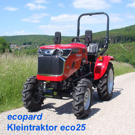 ecopard Kleintraktor eco25-cs