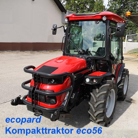 ecopard Kompakttraktor eco56-as