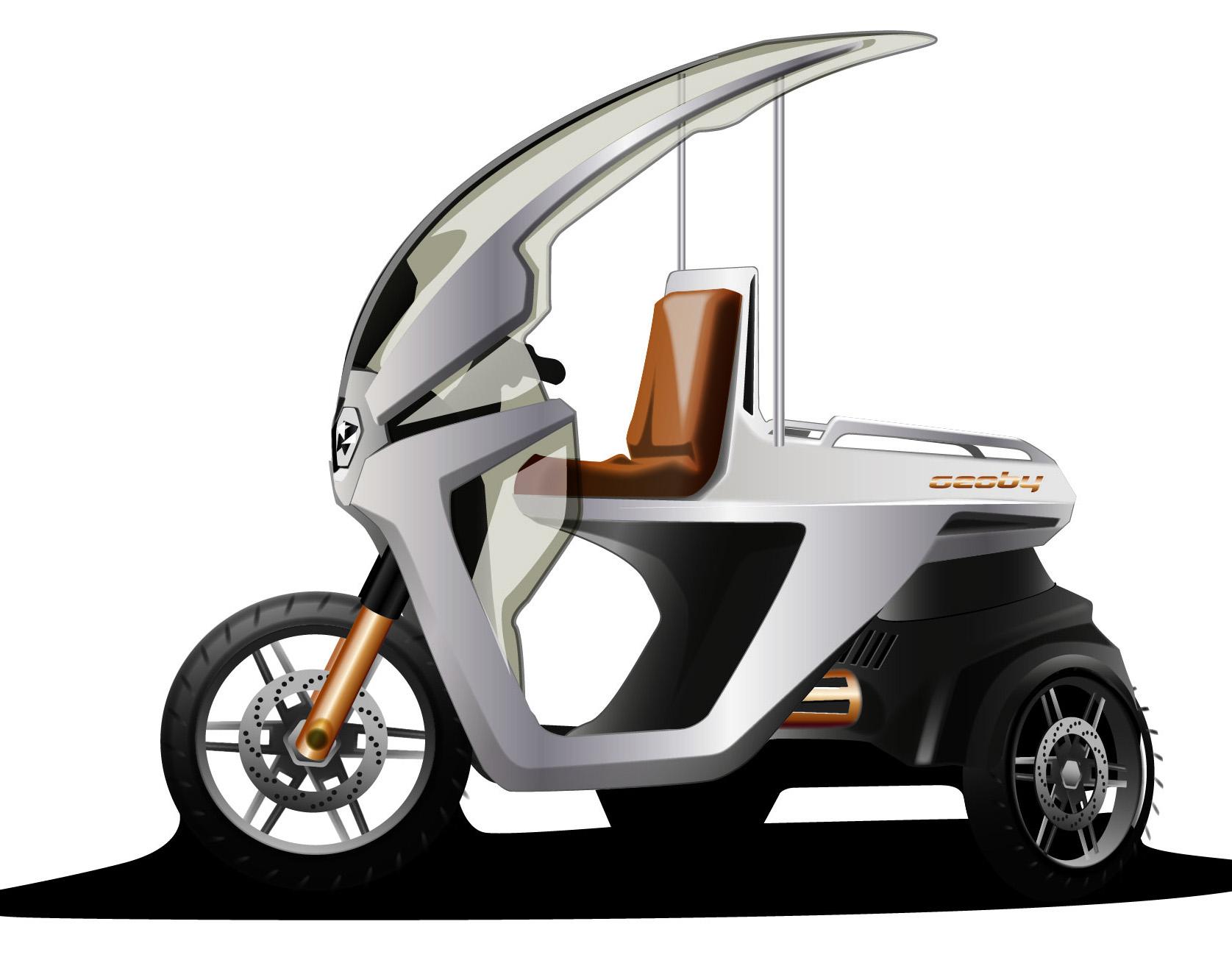 Geoby_Designstudie Cargo Dreirad