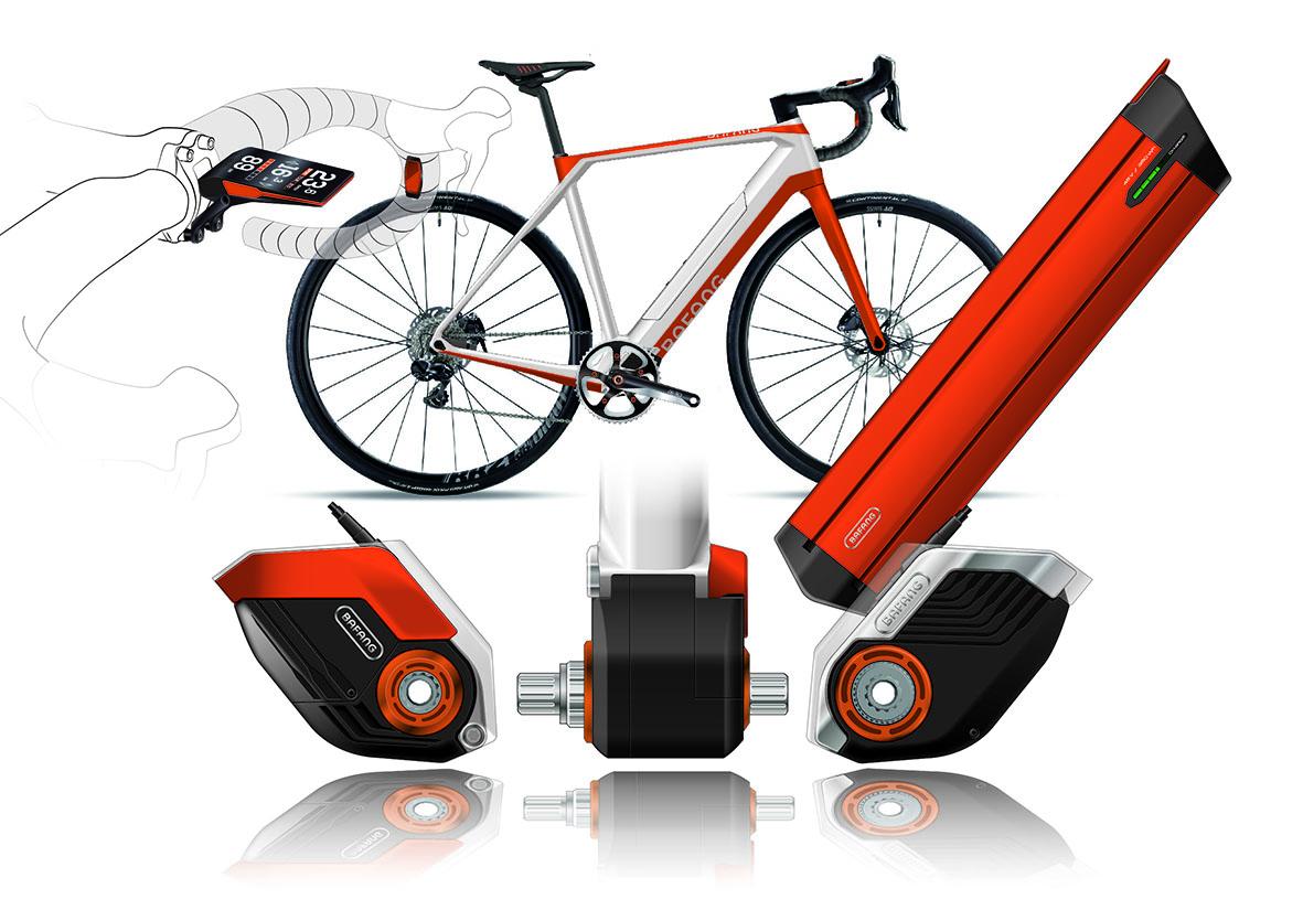 BAFANG/eRennrad Antriebssystem und Frame-Design
