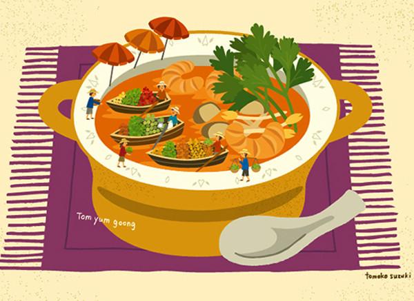 野菜市場のトムヤムクン