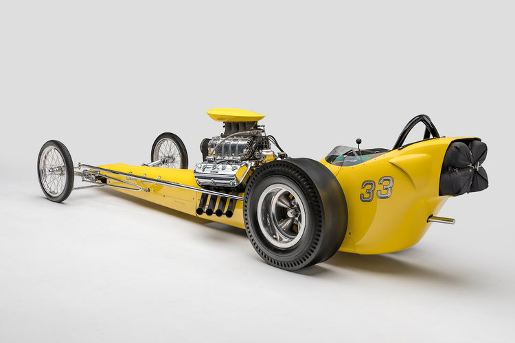 1962 Greer-Black-Prudhomme Top Fuel Dragster