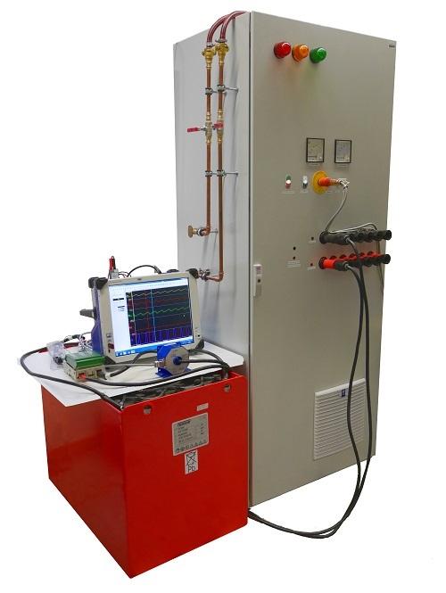 Bild 3: Hochleistungsprüfstand für Batteriesysteme der Hochschule Aschaffenburg