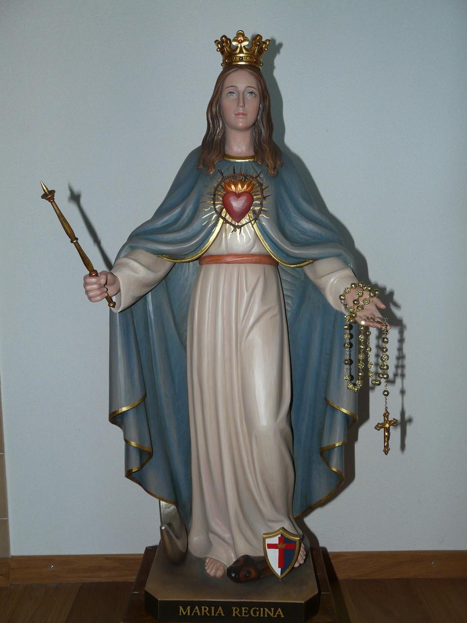 Unsere zweite Patronatsstatue: Maria Königin!