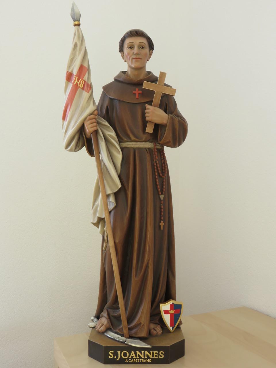 Unsere fünfte Patronatsstatue: Der hl. Johannes v. Capestrano!