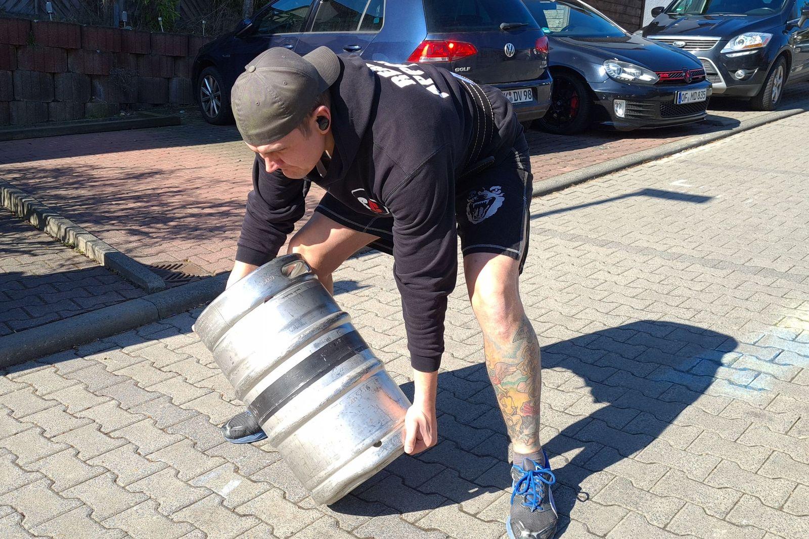 Combative Strongman | Keg Lifting für Combatives, Krav Maga, Kampfsport und Selbstverteidigung (Teil 2)