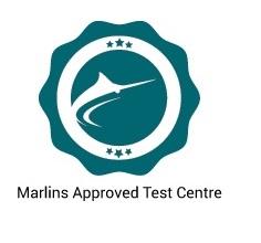 Marlins test center certificate