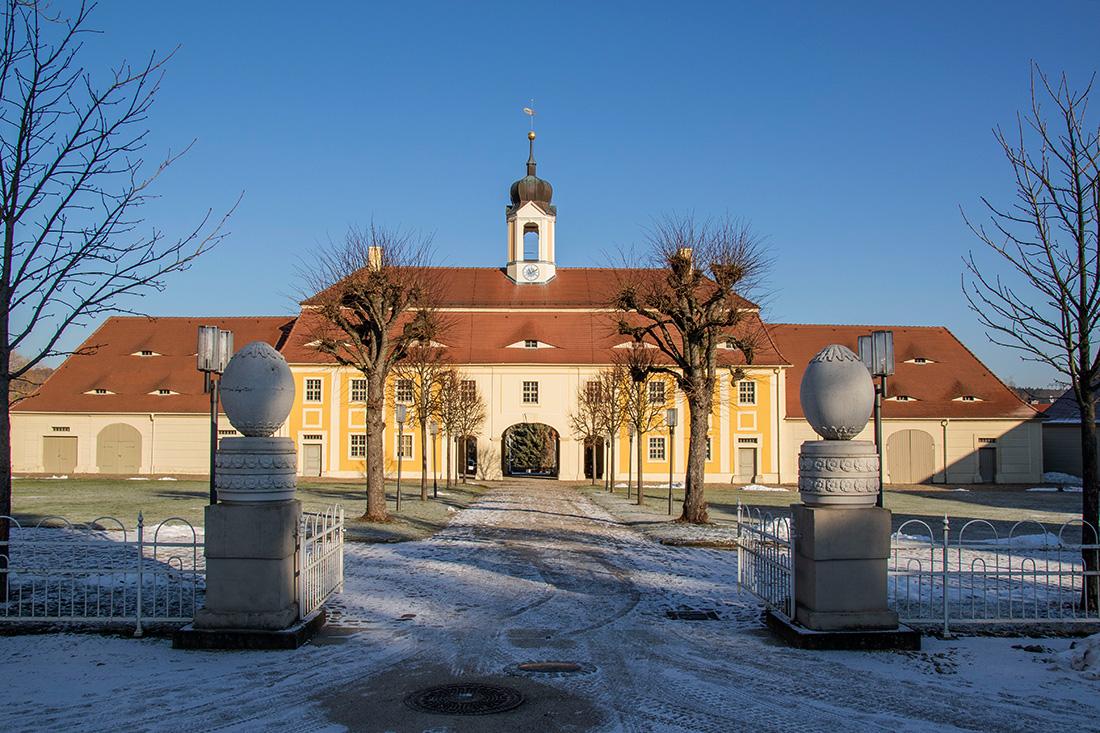 Barockschloss Rammenau - Tor