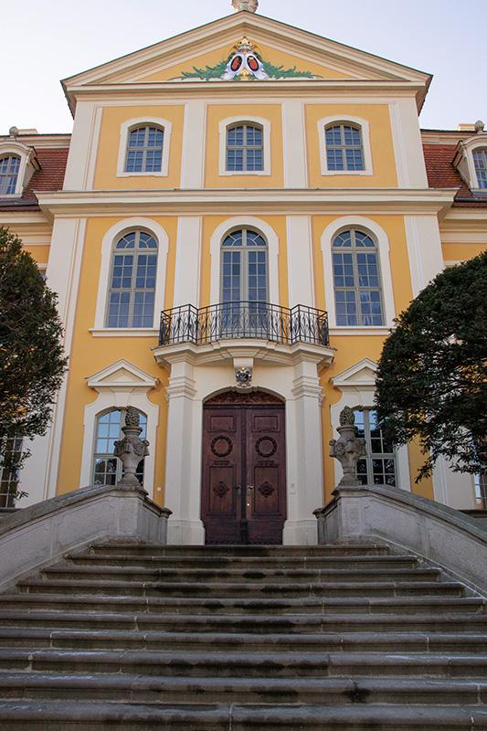 Barockschloss Rammenau - Eingangstür