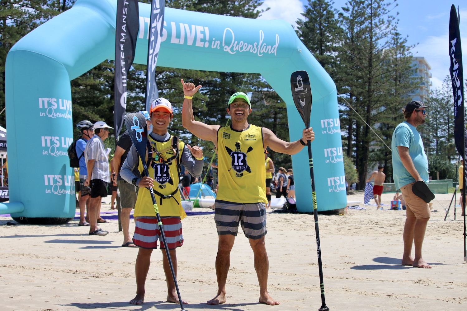 12Towers世界選手権/AUS、親子揃ってエイジ部門で優勝