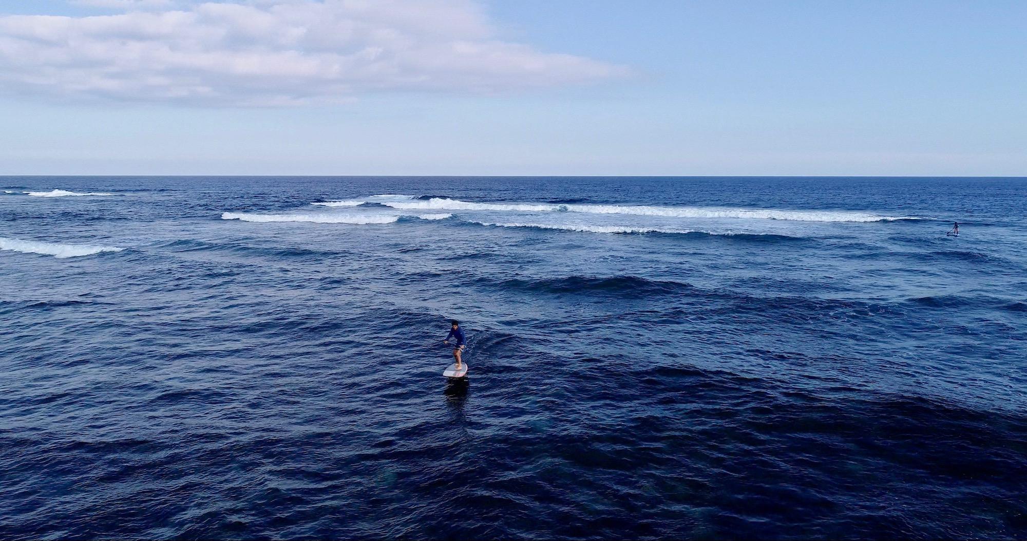 自宅前の大切な海