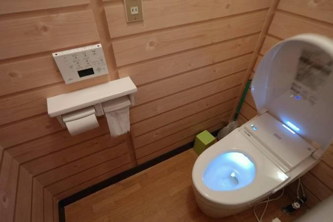 WC automatique, illuminé, chauffant et autonettoyant !!!!
