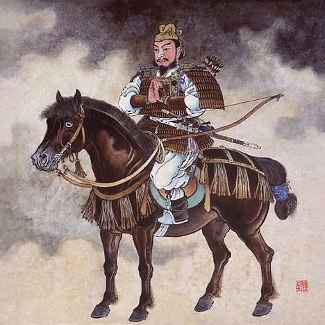Le samouraï Saka-no-ue Tamuramaro
