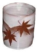 """Gobelet à thé en """"sable"""" de M miyajima"""