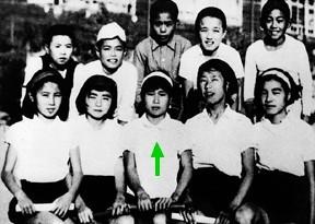L'écolière Sadako Sasaki