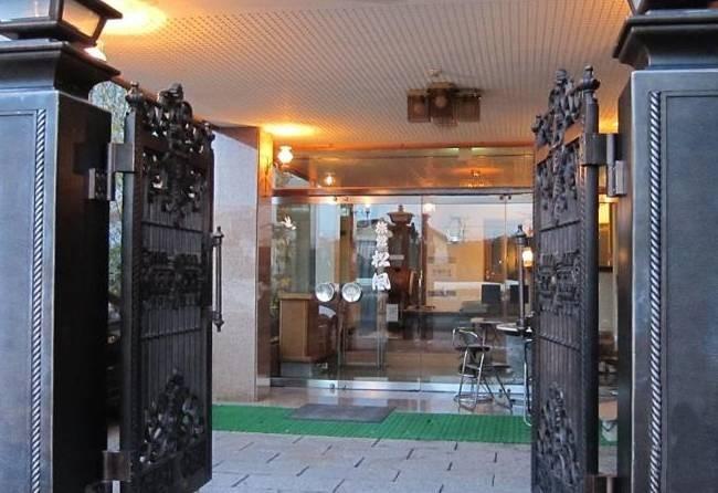 Entrée du Ryokan Matsukaze