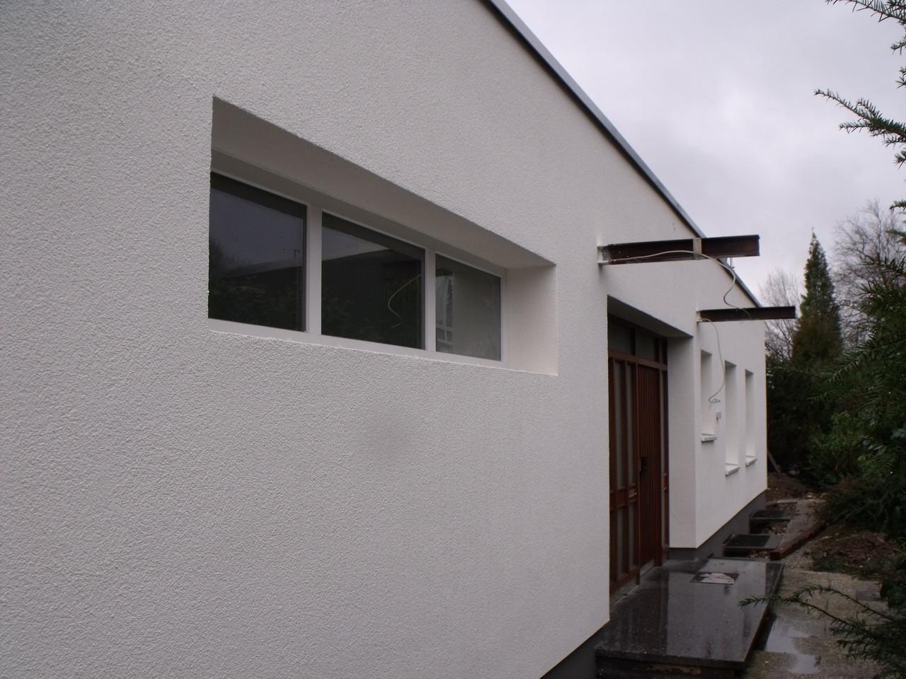 Fensterdetail nach der Fertigstellung