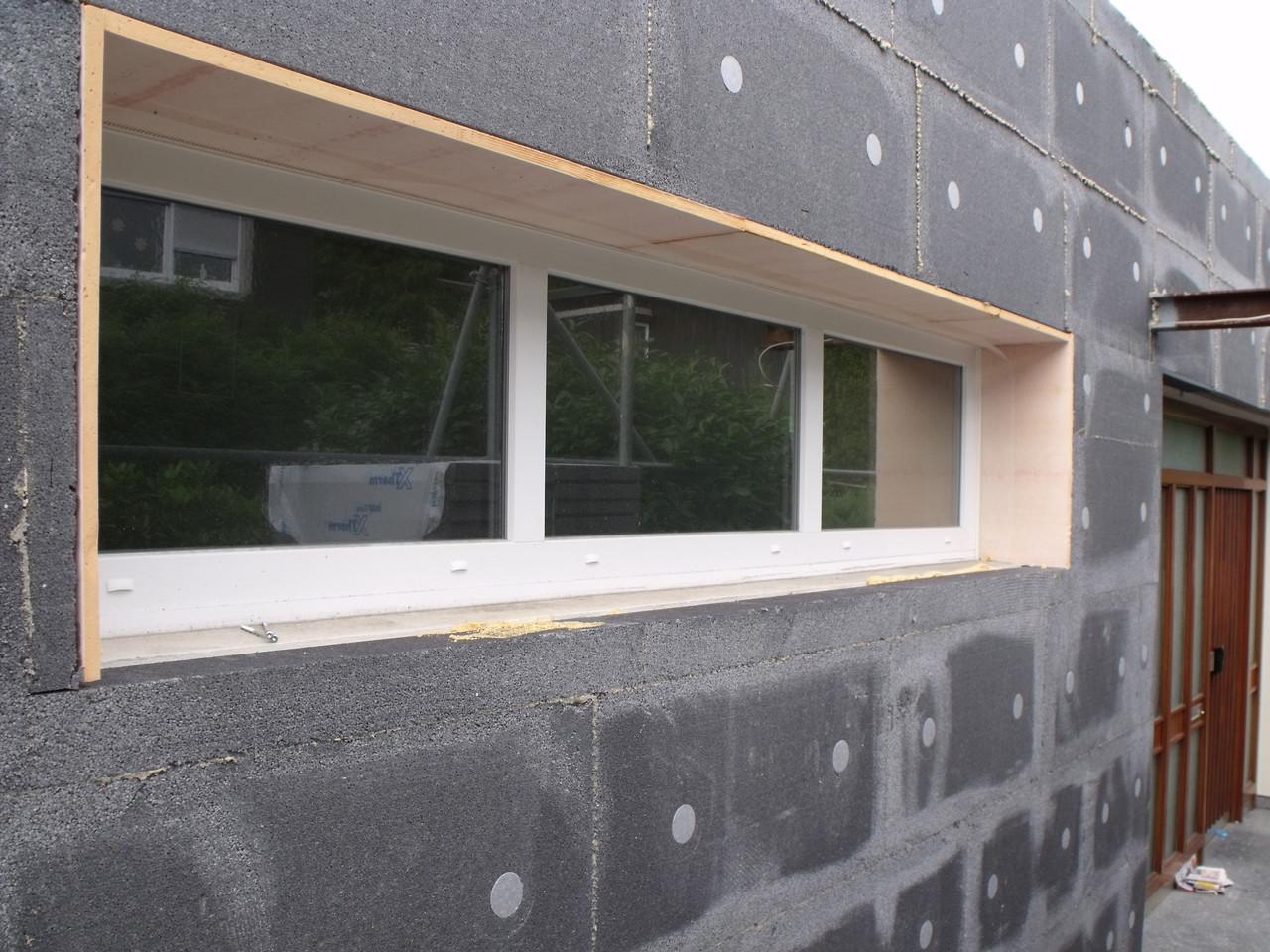 komplette Fensterlaibung gedämmt