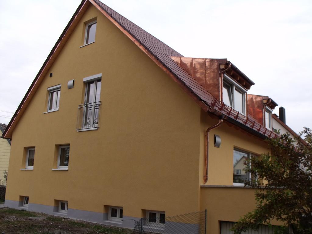 Westseite nach Sanierung und Umbau