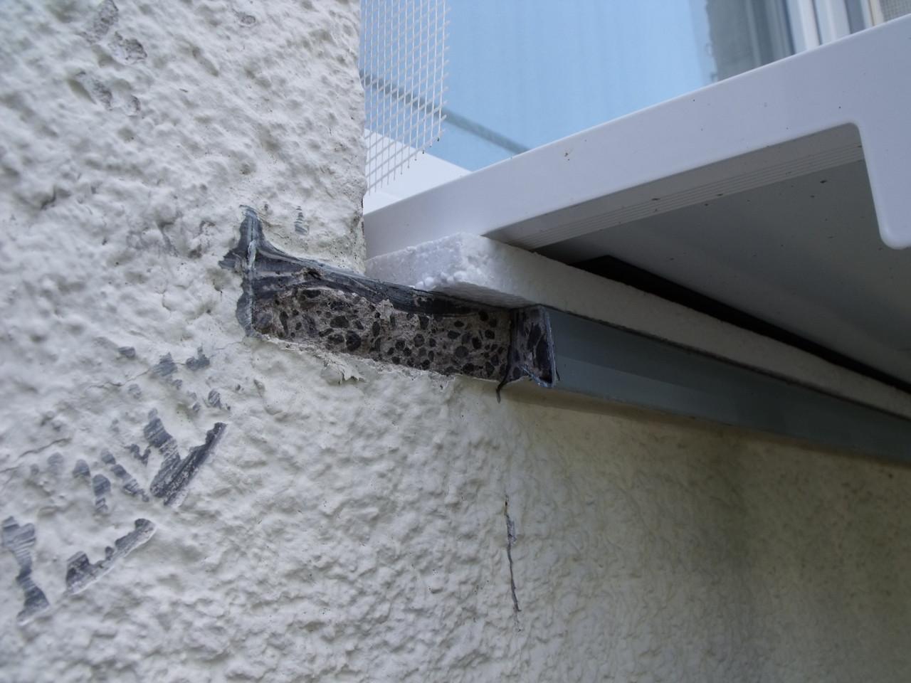 Wärmebrückenreduzierung: Dämmung unter der neuen Fensterbank