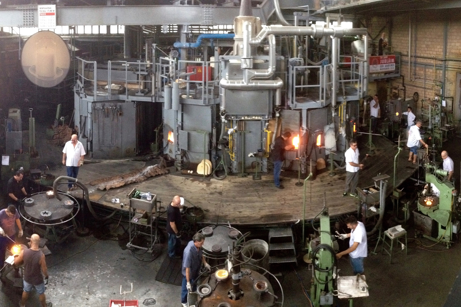 Glass blowing factory, Hergiswil (CH / NW)