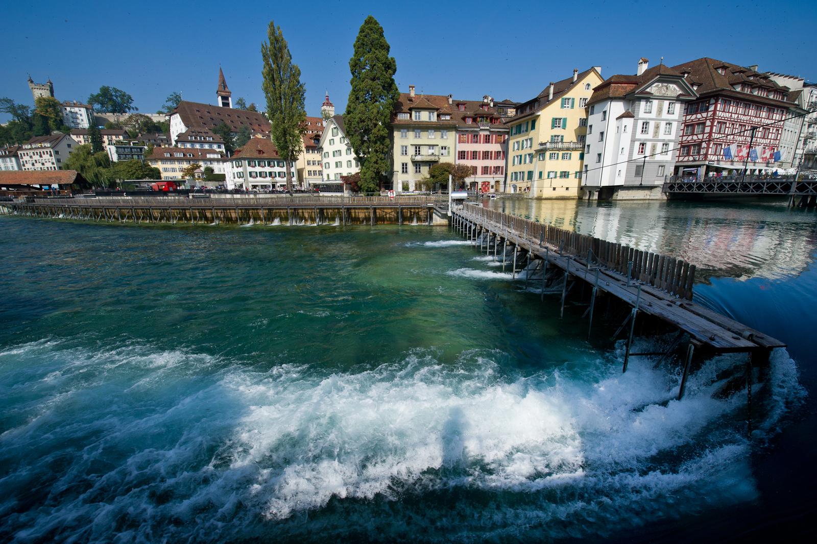 Reuss River, Lucerne (CH / LU)