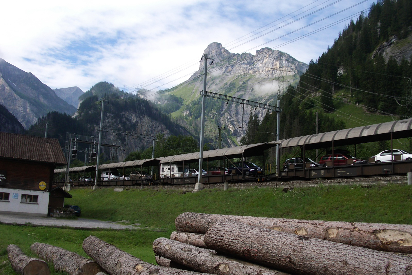 Car Shuttle Train Transfer, Kandersteg (CH / BE)