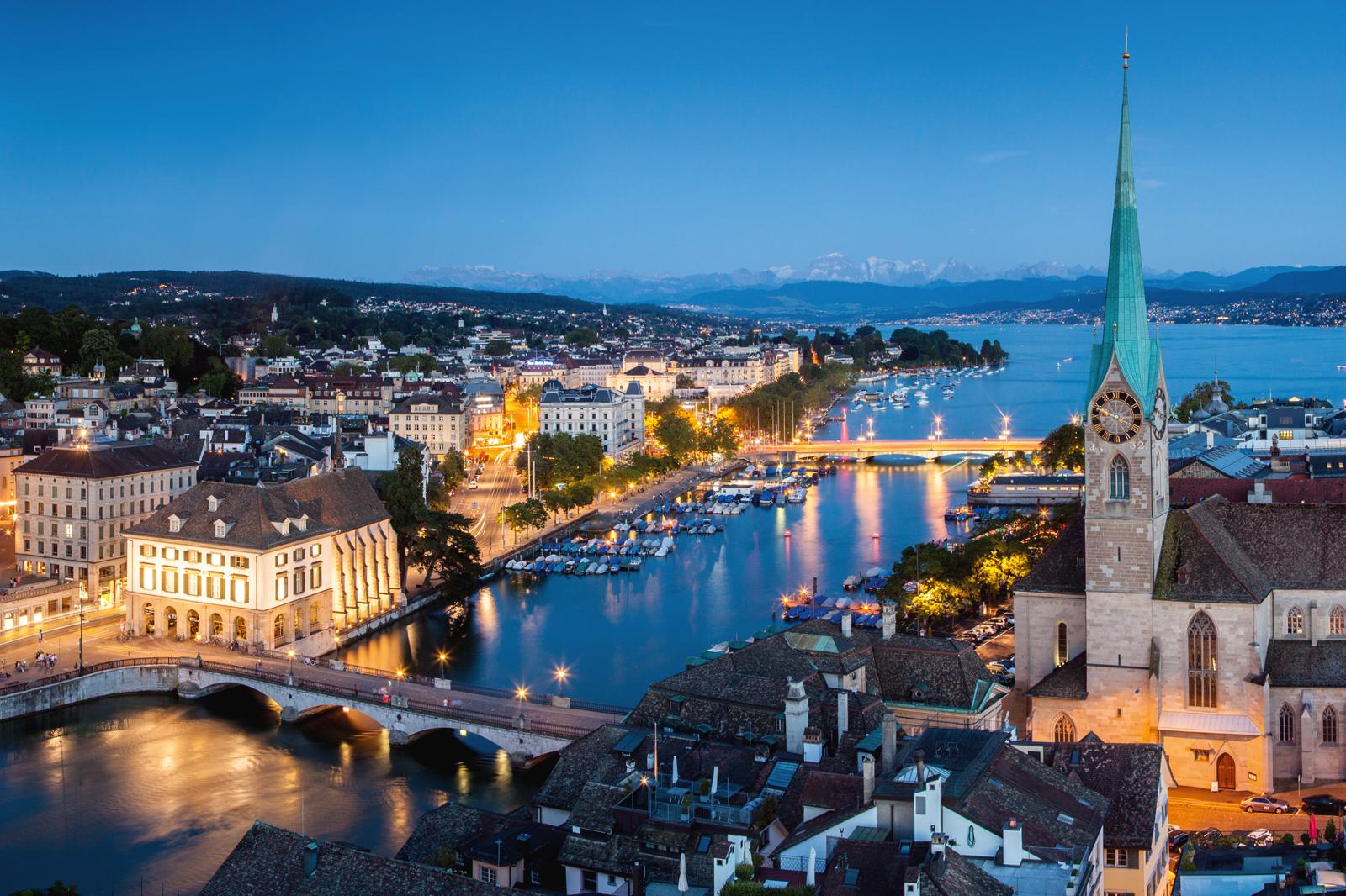 Zurich, Limmat River (ZH)