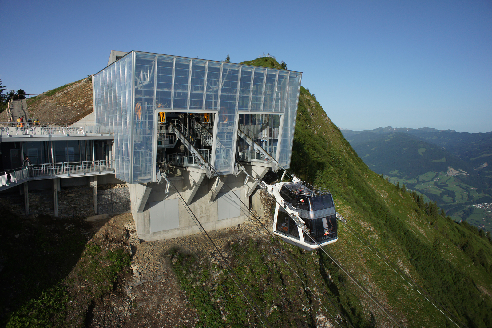 Stanserhorn, Cabrio Cable Car, Stans (CH / NW)