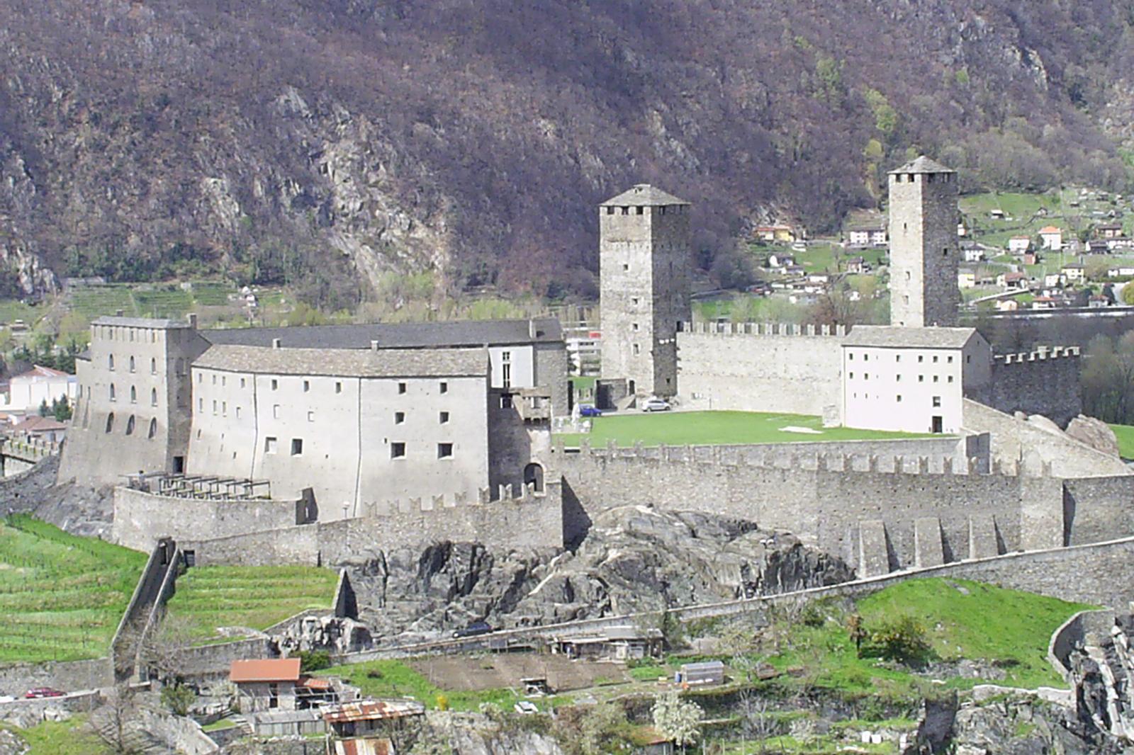Castel Grande, Bellinzona (CH / TI)