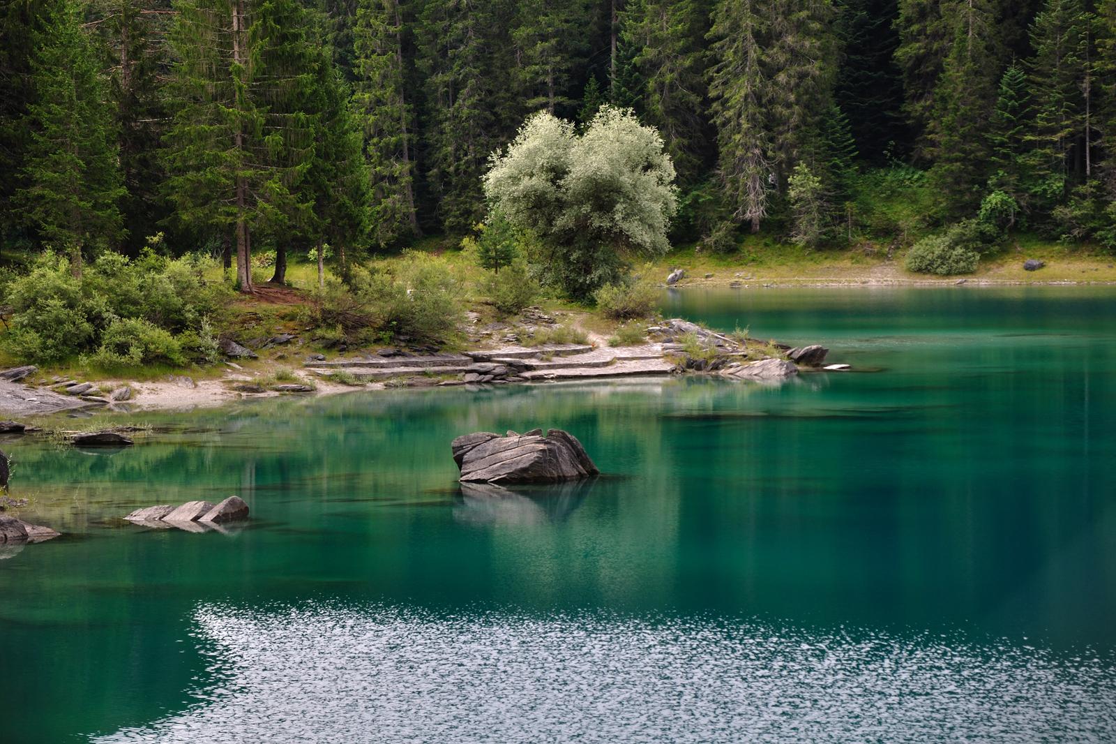 Cauma Lake, Flims (CH / GR)