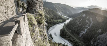 Rhine Gorge - the Swiss Grand Canyon