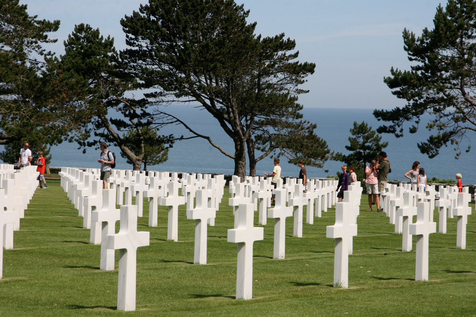 US Cemetery, Normandy (FR)