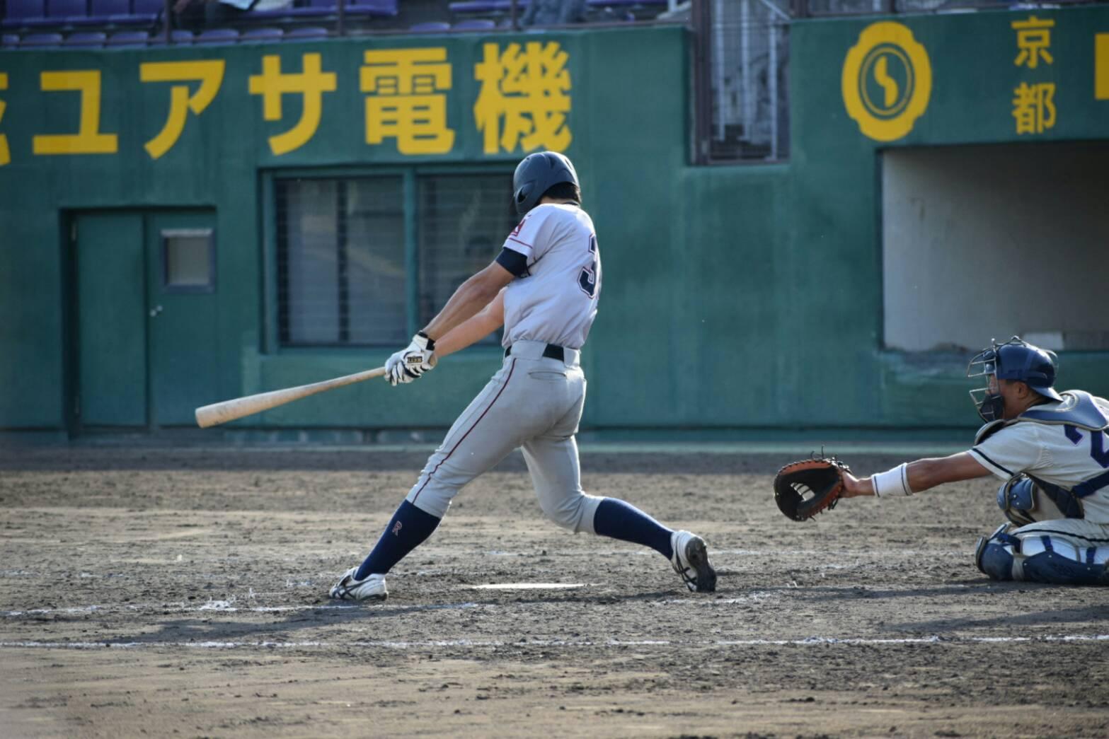榮枝は昨年の立同戦でもサヨナラ打を放つ活躍を見せた