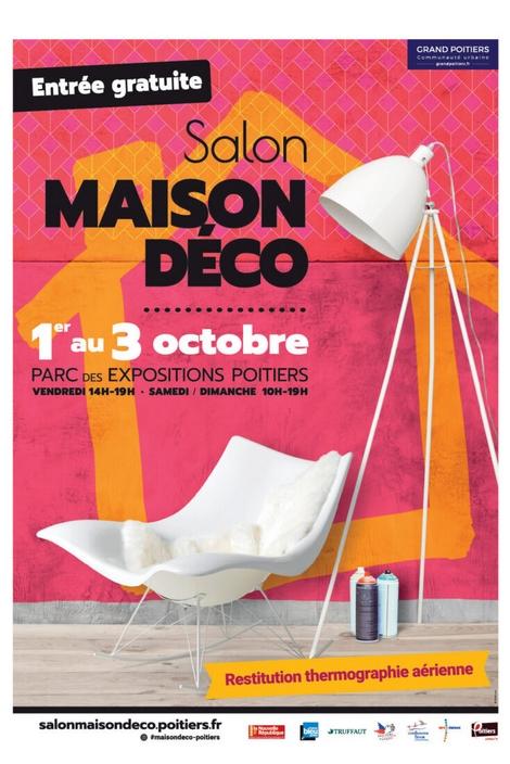 Affiche Salon Maison Déco Poitiers