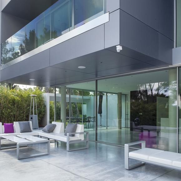 Protection de l'angle de votre terrasse